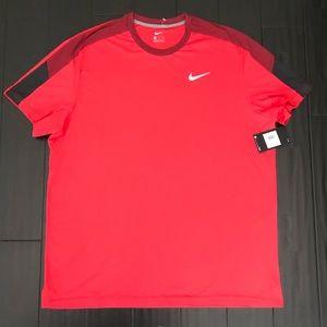 Nike Team Court Crew Men's Tennis Shirt